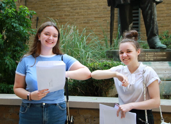A Level results 2020 1