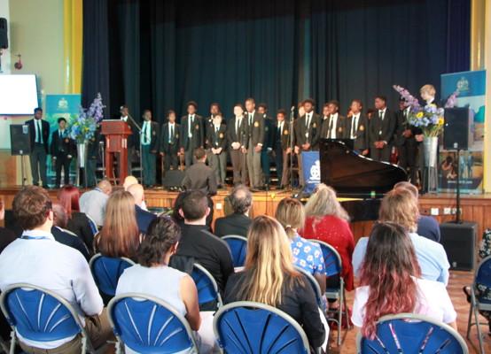 Celebration of Achievement Evening 2021 - our Choir