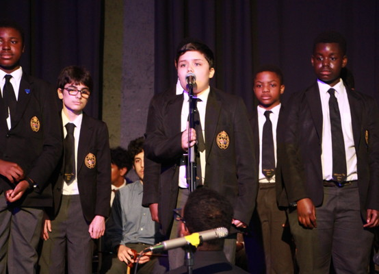 Celebration of Achievement Evening 2021 - solo by Theo