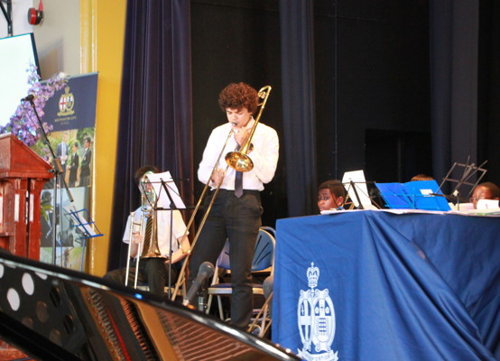 Celebration of Achievement Evening 2021 - our Wind Band
