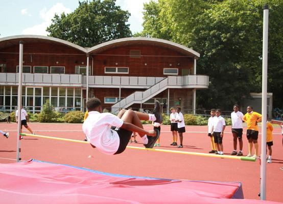 Sports Day 2021 - high jump